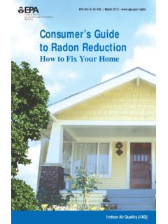 Consumer's Guide to Radon Reduction - US EPA