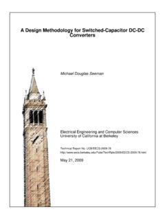 A Design Methodology for Switched-Capacitor DC-DC …