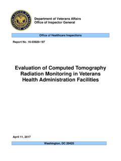 Evaluation of Computed Tomography Radiation …