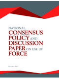 NATIONAL CONSENSUS POLICY AND DISCUSSION …