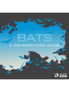 a conservation guide - Toronto Zoo