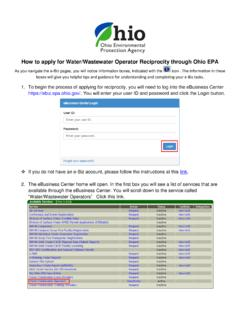 How to apply for Water/Wastewater Operator …