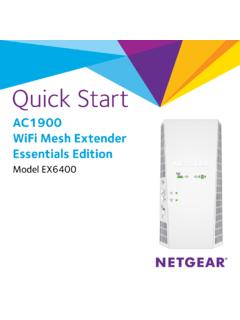 AC1900 WiFi Mesh Extender Essentials Edition - Netgear