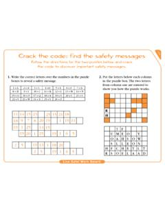 Crack the code: find the safety messages 104
