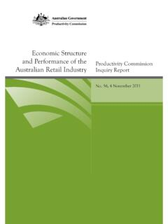 Economic Structure and Performance of the Australian ...