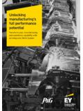 Unlocking manufacturing's full performance potential