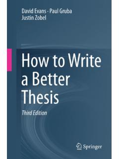 How to Write a Better Thesis - Dr. Sunu Wibirama