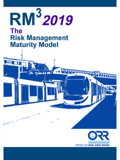 RM3 2019 - The Risk Management Maturity Model