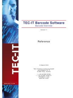 TEC-IT Barcode Software