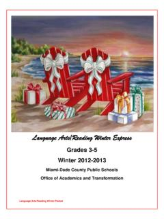 Grades 3-5 - English Language Arts (ELA)