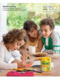 Nestlé in society Creating Shared Value and meeting our ...