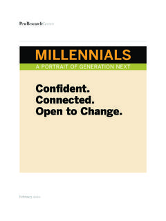 Confident. Connected. Open to Change. - Pew …