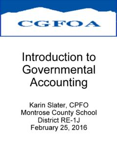 Introduction to Governmental Accounting - …
