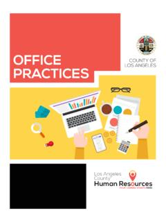 A Guide to Effective Office Practices from the …