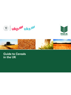 Guide to Cereals in the UK - AHDB Cereals & Oilseeds