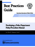 Best Practices Guide - The International Association …