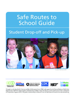Safe Routes to School Guide