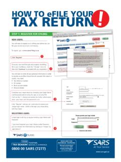 HOW TO eFILE YOUR TAX RETURN - …