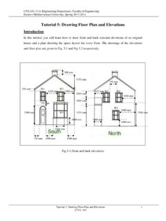 Tutorial 5: Drawing Floor Plan and Elevations - EMU