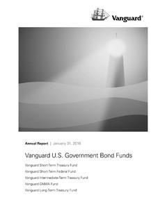 Vanguard U.S. Government Bond Funds