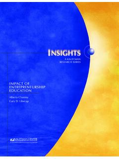 IMPACT OF ENTREPRENEURSHIP EDUCATION