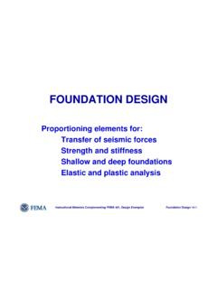 Topic 14 - Foundation Design - Civil Engineering