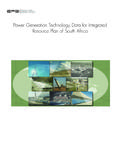 Power Generation Technology Data for Integrated …