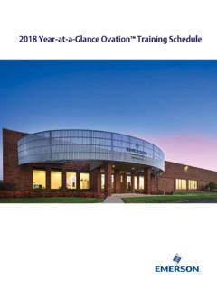 2018 Year-at-a-Glance Ovation Training Schedule - …