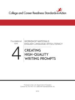 CREATING HIGH-QUALITY WRITING PROMPTS