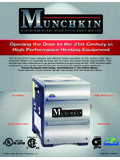 Durability High Efficiency - Munchkin Boiler