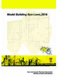 Model Building Bye Laws - India Environment Portal