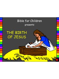 The Birth of Jesus English - Bible for Children