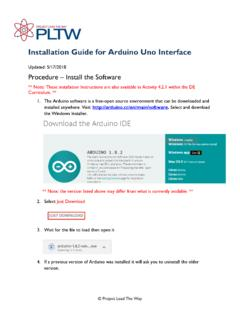 Installation Guide for Arduino Uno Interface