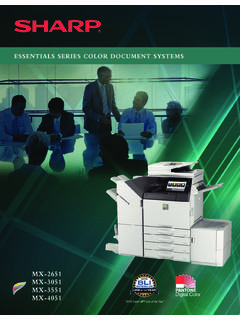 ESSENTIALS SERIES COLOR DOCUMENT SYSTEMS