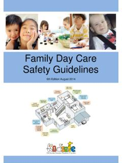 Family Day Care Safety Guidelines - Kidsafe SA