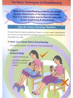 The Basic Techniques of Breastfeeding - Ten Steps