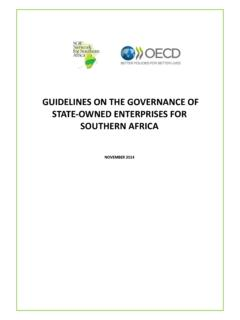 GUIDELINES ON THE GOVERNANCE OF STATE-OWNED …