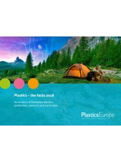 Plastics – the Facts 2018