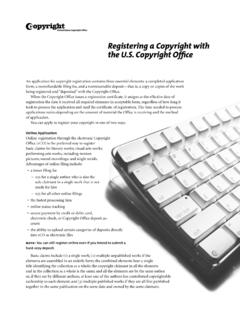 Registering a Copyright with the U.S. Copyright Office