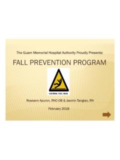 The Guam Memorial Hospital Authority Proudly Presents ...