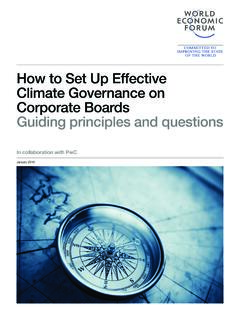 How to Set Up Effective Climate Governance on Corporate ...