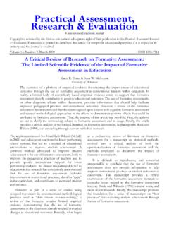 A Critical Review of Research on Formative …