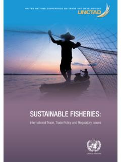 Sustainable Fisheries: International Trade, Trade …