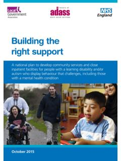 Building the right support - england.nhs.uk