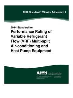 2014 Standard for Performance Rating of Variable ...
