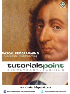 Pascal - Tutorials Point