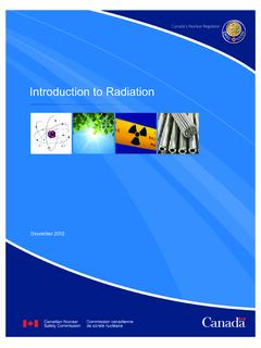 Introduction to Radiation - nuclearsafety.gc.ca