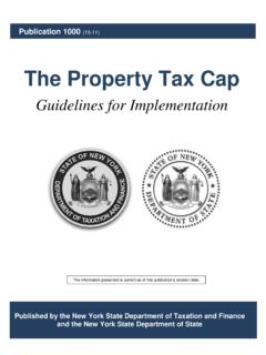 The Property Tax Cap