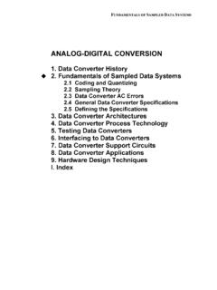 Chapter 2 Sampled Data Systems F - analog.com