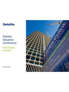 Deloitte Valuation Conference